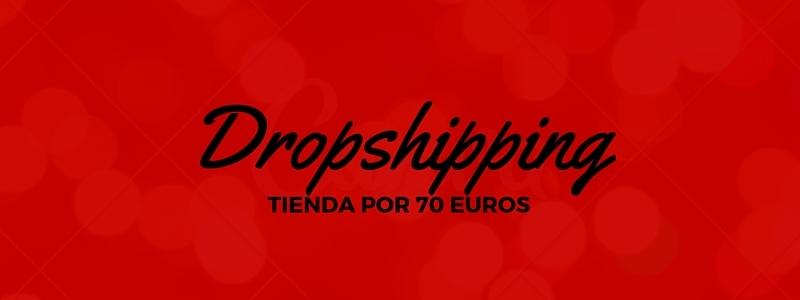 Crear tienda online Dropshipping