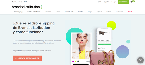proveedor dropshipping internacional, brandsdistribution