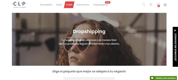 proveedor dropshipping nacional, clp