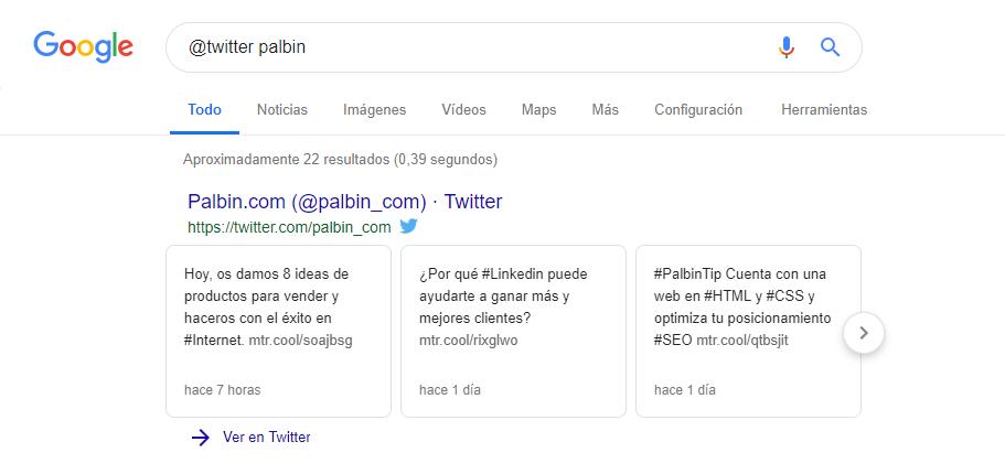 comando buscar usuario red social