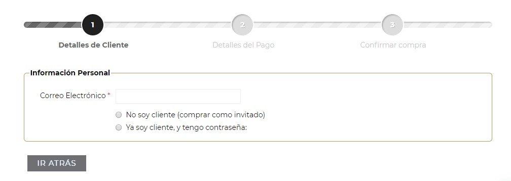 User Experience acceso como invitado