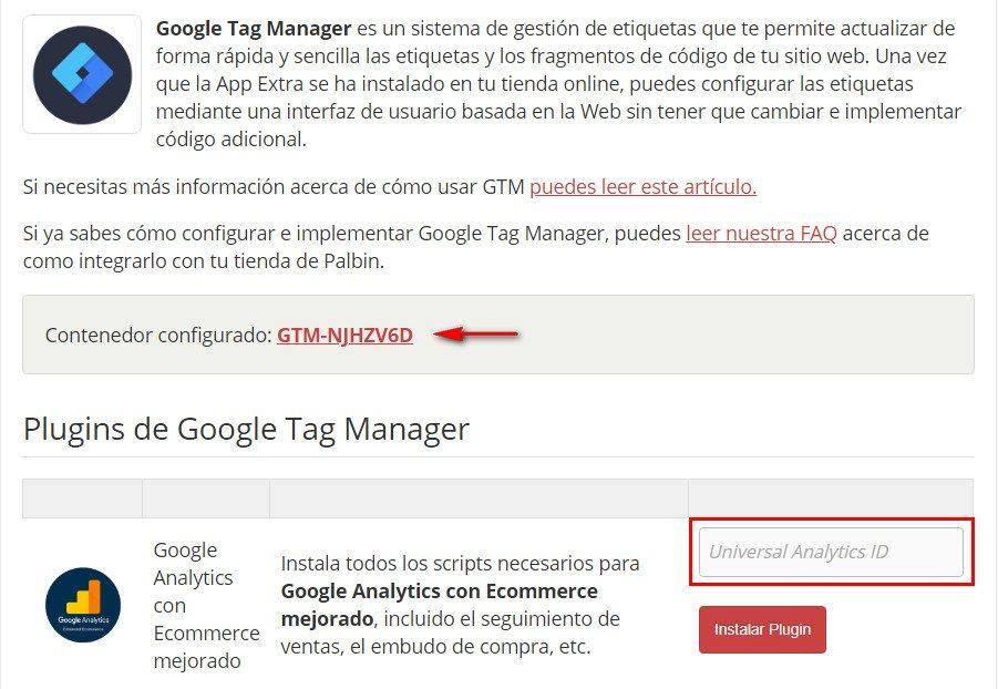 configuracion de google analytics comercio mejorado