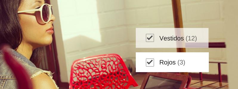 Los filtros de búsqueda elevan a tu eCommerce a otro nivel