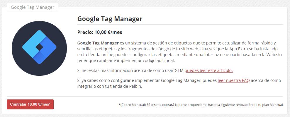 como instalar google tag manager en tienda online