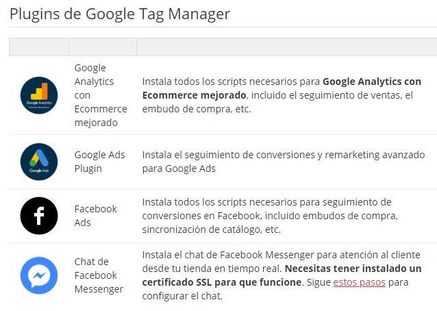 plugins de google tag manager