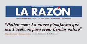 Palbin en La Razón