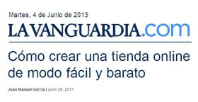 Palbin en La Vanguardia