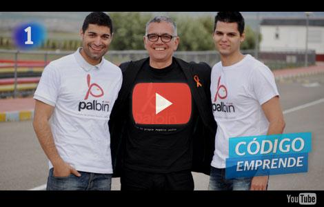 Juan Ramón Lucas con Palbin.com - Código Emprende TVE1