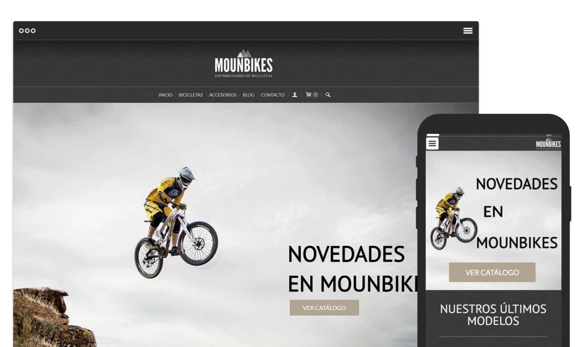 Ejemplo crear tienda online de deportes
